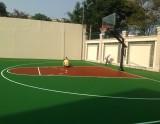 sân bóng rổ chuyên nghiệp tại trường bvis quận 2 hồ chí minh