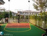 thi công sơn sân bóng rổ thủ đức