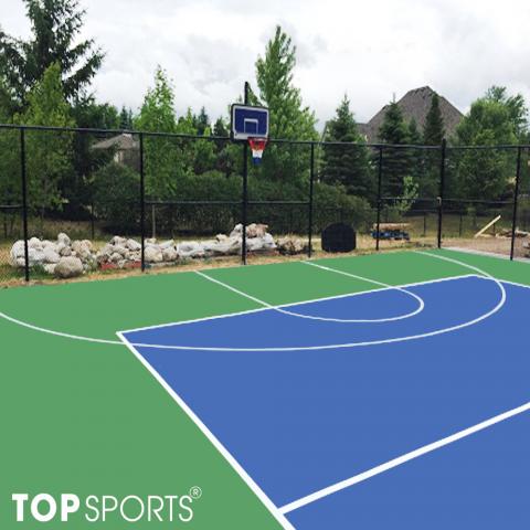 sơn sân bóng rổ chất lượng