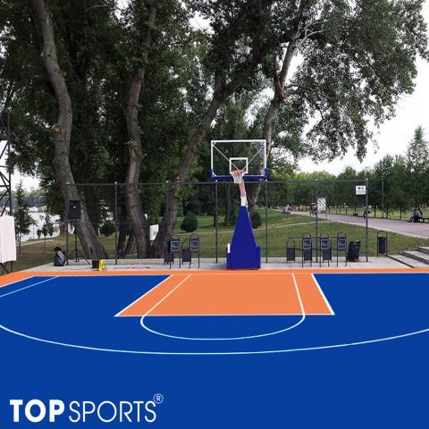 sơn sân bóng rổ chuẩn chất lượng