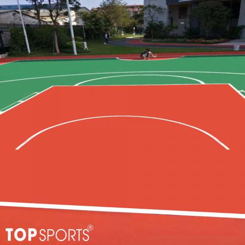 sơn sân bóng rổ chuyên nghiệp