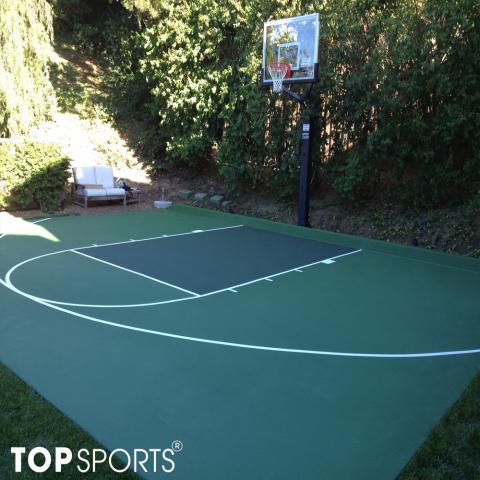 sơn sân bóng rổ tiết kiệm