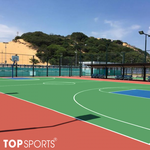 sơn sân tennis tiêu chuẩn