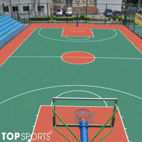 sơn sân bóng rổ 1