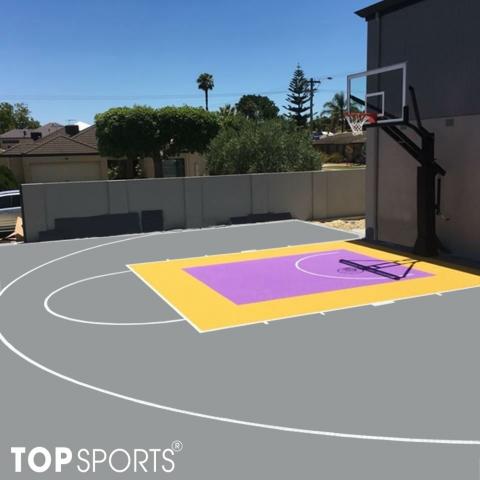 sơn sân bóng rổ 2