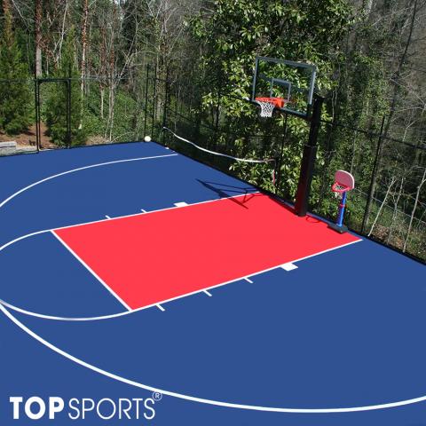 sơn sân bóng rổ 3