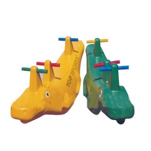 bập bênh cá sấu dành cho trường mầm non