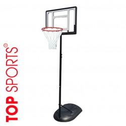 trụ bóng rổ di động trẻ em điều chỉnh.