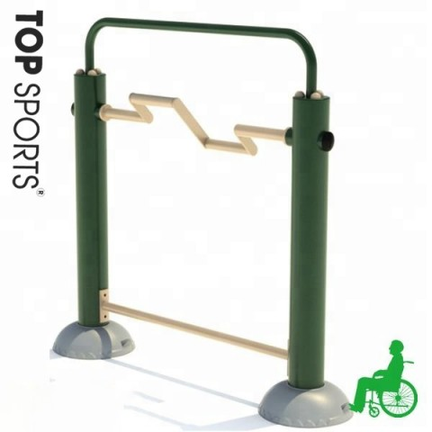 gs approved outdoor disabled fitness equipment for