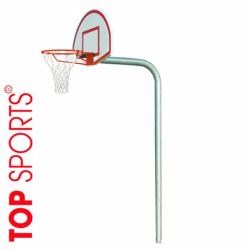 trụ bóng rổ cố định, bảng rổ topsports composite 900cm x 60cm
