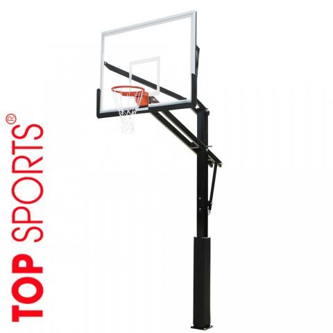 trụ bóng rổ công viên, tt vh thể thao với bảng rổ acrylic