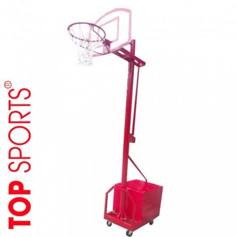 trụ bóng rổ di động bảng rổ topsports composite cho gia đình