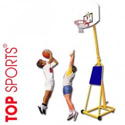 trụ bóng rổ di động thiếu niên điều chỉnh độ cao