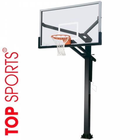 trụ bóng rổ standard, bảng kính siêu bền, Điều chỉnh chiều cao