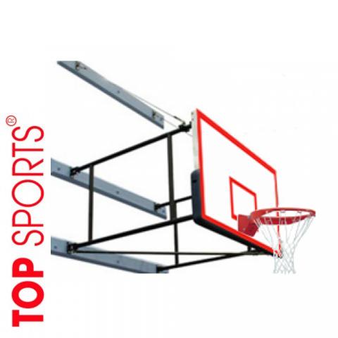 bóng rổ gắn tường. bảng topsports composite