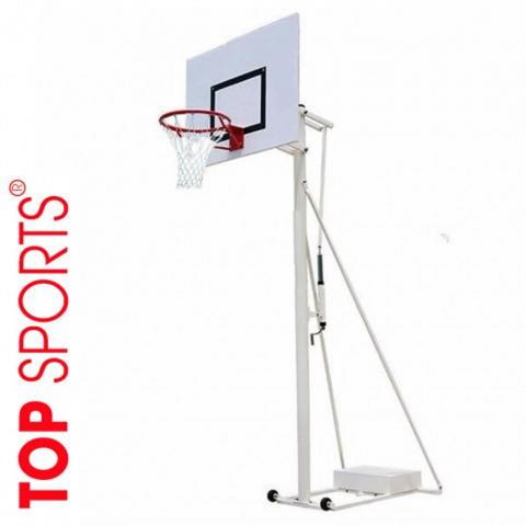 trụ bóng rổ di động điều chỉnh độ cao composite 120cm x 90cm1