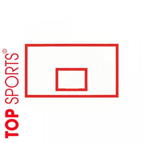 bảng bóng rổ trung tâm thể thao, trường học. topsports composite