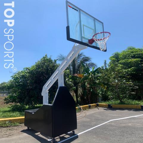 bảo vệ trụ bóng rổ di động 3